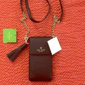 Kate Spade black phone bag